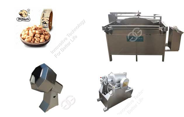 Frying Coffee Corn Production Line For Sell