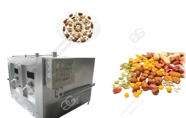 Walnut Roasting Machine|Nut Roaster Dryer Machine
