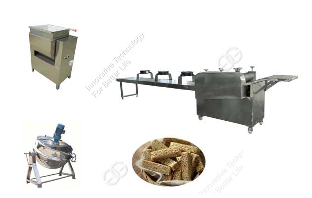 China Sesame Brittle Production Line Manufacturer