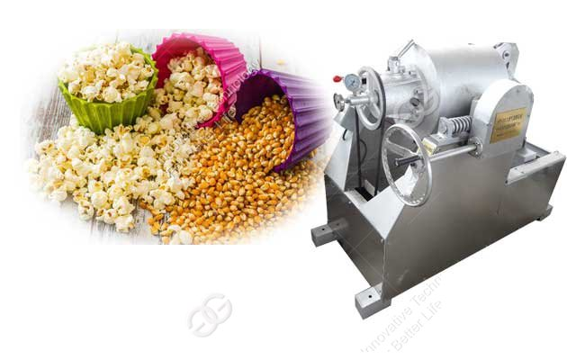 Air Flow Cereal Corn Puffing Machine