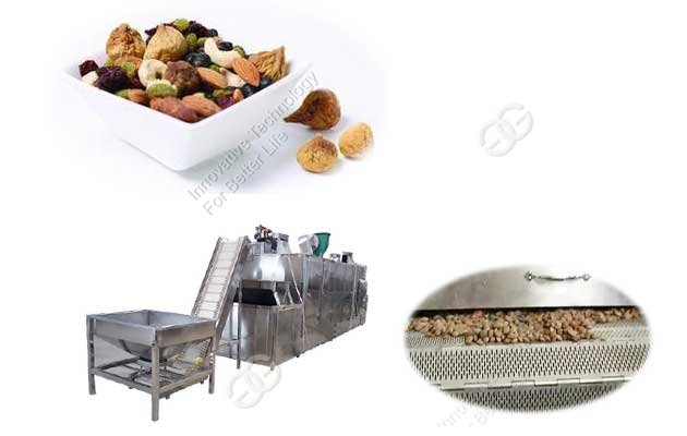 continuous peanut drying machine