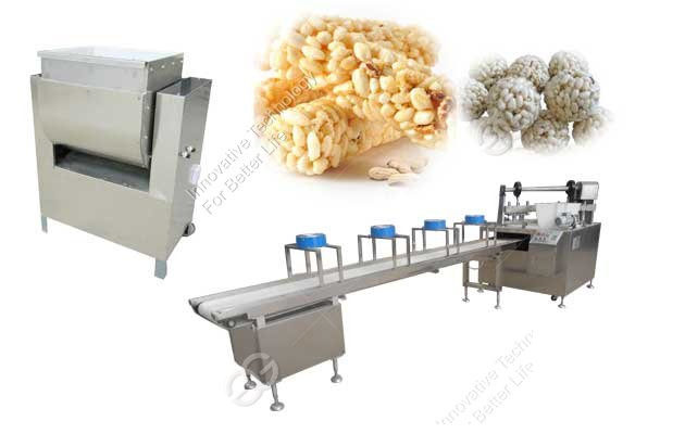 Nutrition Cereal Bar Equipment