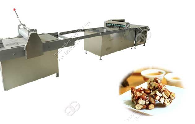 peanut brittle forming cutting machine