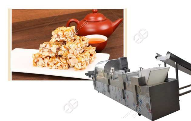 Peanut Candy Bar Making Machine Factory