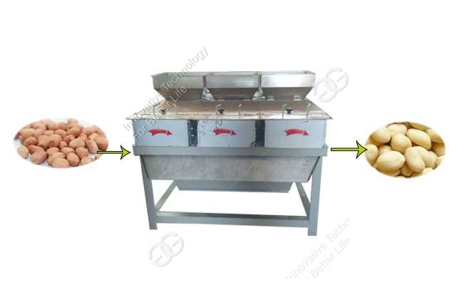 The Use Requirements Of The Peanut Peeling Machine
