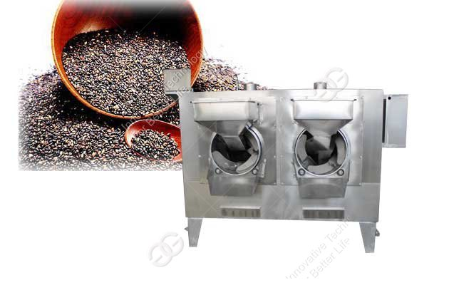 Sesame Roasting Machine Working Video